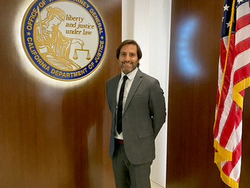 PJ Lucca Deputy Attorney General for California