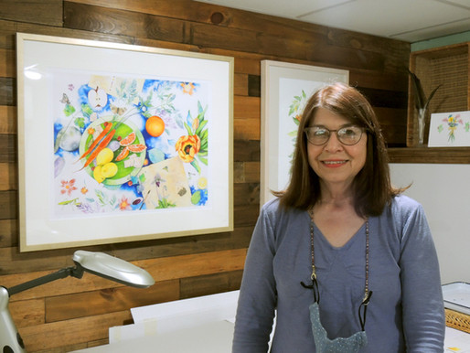 Laura Bethmann talks latest watercolor series