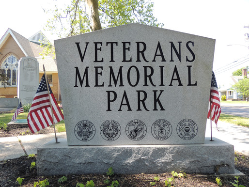 Town's WWI memorial dedicated 100 years ago
