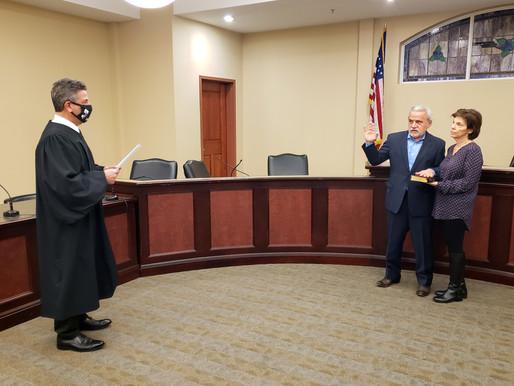 William Olivo returns to council