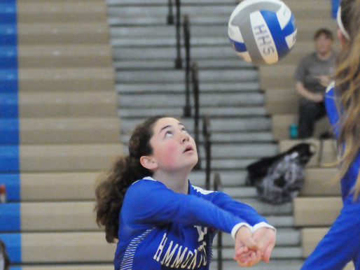 Hammonton High School girls volleyball returns to the court