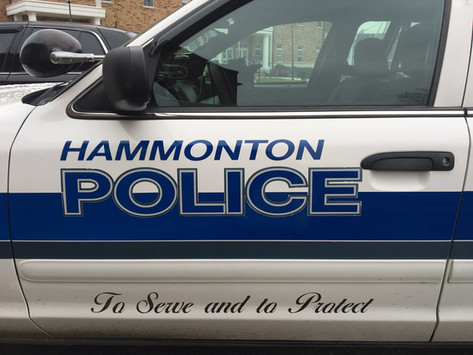 Night arrest on Elm St.
