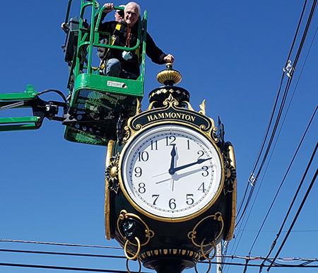 Clock is a symbol