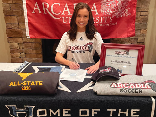Mortelliti headed to Arcadia University