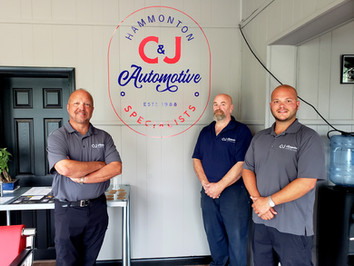 Service and family at C&JAutomotive