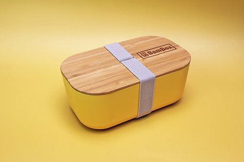 Microwaveable Bamboo Lunch Box (1.1L)