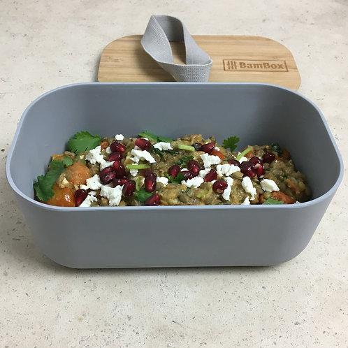 Grey Lunch Box (1.1L)