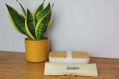 Lunch Box (700ml) & Cutlery Bundle