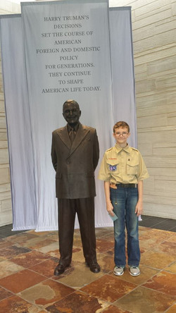 Scouting at Truman Library