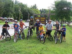 Katy Trail Bike Hike
