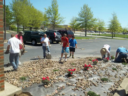 Service Project at Raymore Christian