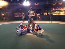 Bear den visited Negro League Museum
