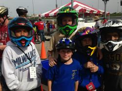 Boy Scouts BMX Ride at Scouting 500
