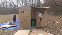 Cardboard camping 2013