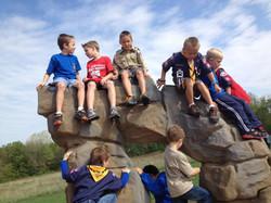 Climbing fun