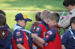 Cub Scouts Advancing