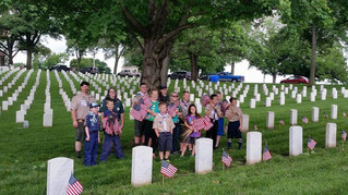 Decoration of Graves - 2016 Leavenworth National Cemetery