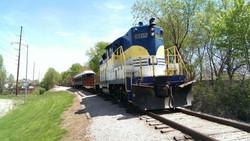 Train ride in Belton