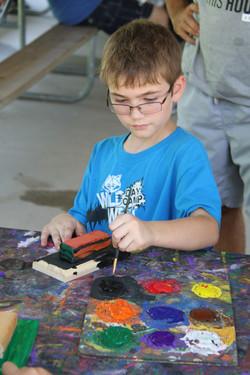 Webelos Painting