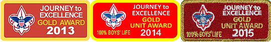 The award recognizes the Troop as excelling in things such as having a quality program, active participation, the use of the patrol method, planning and trained leadership. I want to thank all of our Scouts, families and leaders for their hard work.