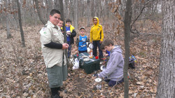 Cooking on the trail