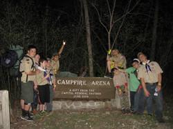 Camp Naish Campfire Arena