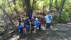 Belton Railroad Cleanup