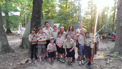 Boy Scout Troop 124 at Bartle