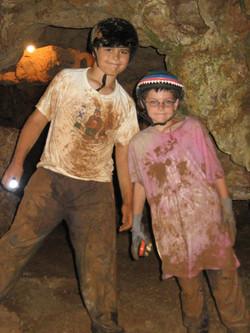 Webelos at Jacob's Cave Camp Event