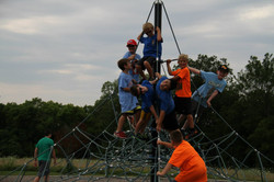 Playing at Raymore Recreation Park