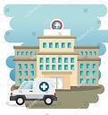 stock-vector-hospital-building-with-ambu