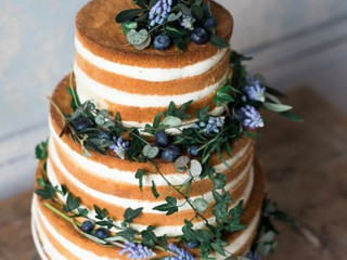 Tendance wedding cake : le nude cake
