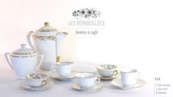 Service à café - vaisselle vintage