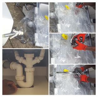 Kichen Sink Installation