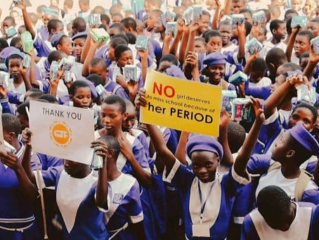 Eradicating Menstrual poverty in Africa: Giving the girl child a voice!