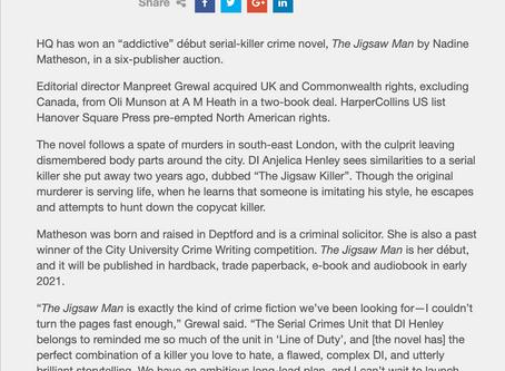 London Book Fair 2019: The Jigsaw Man