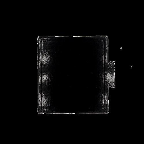 กระดาษรองเค้กดำ จัตุรัส 9x9 cm  100 ใบ