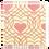 Thumbnail: ชอคตกแต่ง pink heart square 3x3 cm 100 pcs (pre order)