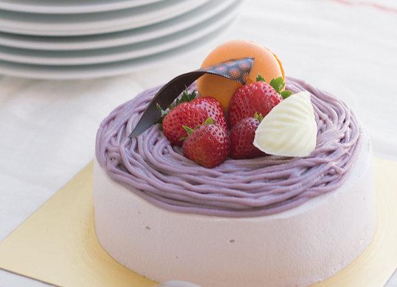 C33 Taro Cream Cake