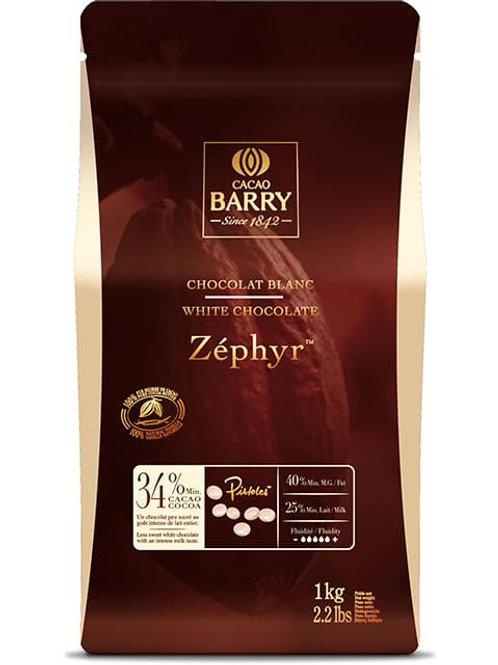 white choc 34% cocoa barry 500g