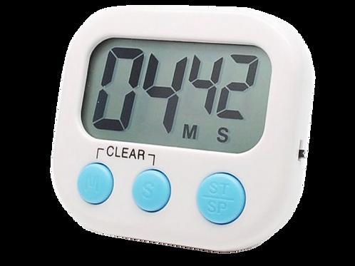 นาฬิกาจับเวลา7.5x6.8cm  ใช้แบตเตอรี่aaa(ไม่มีมาให้)