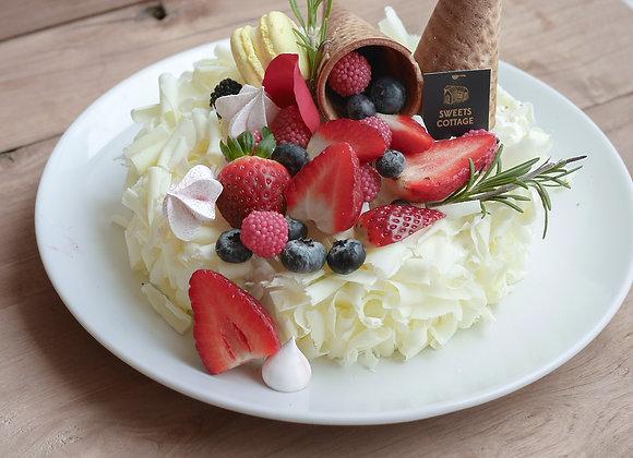 White chocolate souffle 24/12