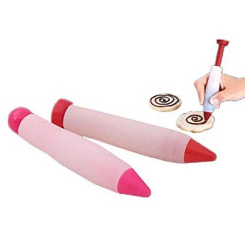 ปากกาซิลิโคนเขียนขนม ชมพู