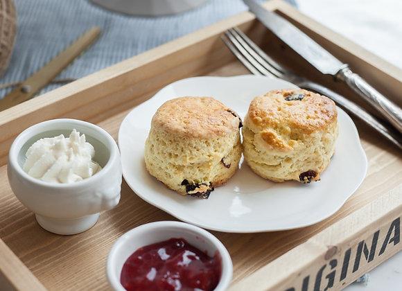 Scone  4 pcs + jam&cream