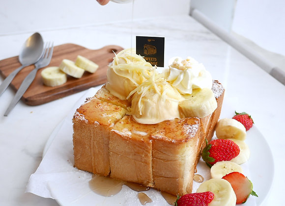 Maple cheese toast 19/3