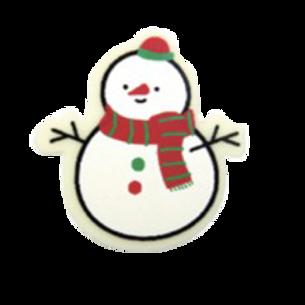 ชอคตกแต่ง snowman 100 pcs 3.8x4cm