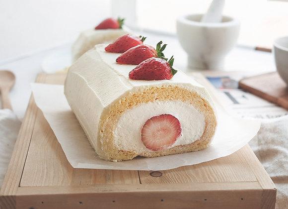Strawberry shortcake roll 6-7pcs
