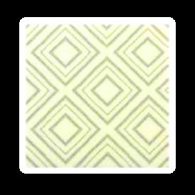 ชอคตกแต่ง dazzling white grey square 3x3 cm 100pcs (pre order)