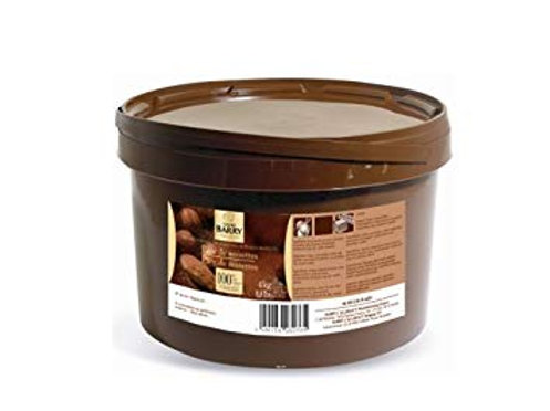 pure hazelnut paste 100% เพสแบบไม่หวาน cocoa barry 250g
