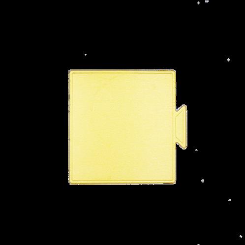 กระดาษรองมูสสี่เหลี่ยม 9x8.4 cm  100 ใบ